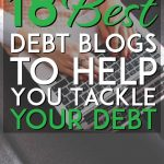 Best debt blogs to help you tackle your debt pinterest pin