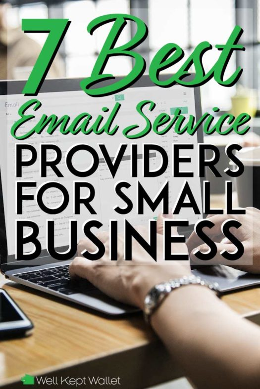 7 best email services for small businesses pinterest pin