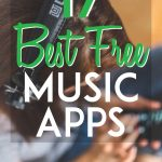 17 best free music apps pinterest pin
