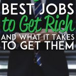 Best jobs to get rich pinterest pin