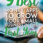 9 best money apps to grow your small business in the first year pinterest pin