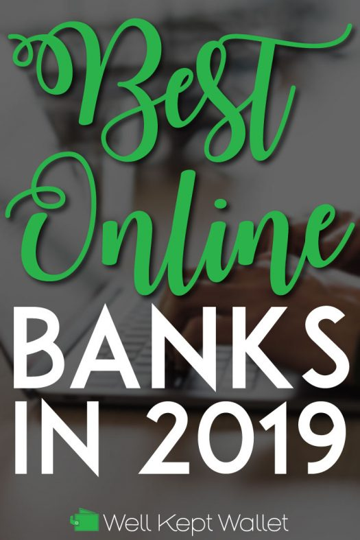 Best online banks this year pinterest pin