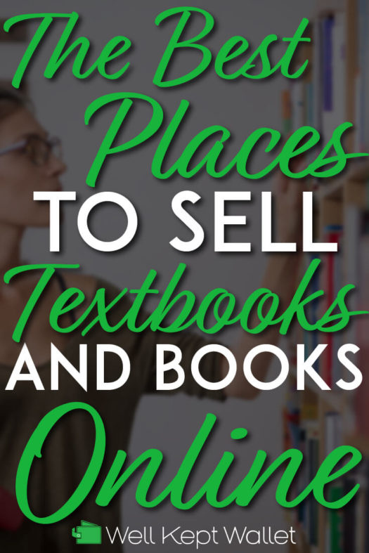 Sell textbooks online pinterest pin