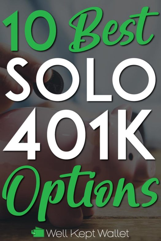 Best solo 401k Options Pinterest Pins