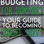 Budgeting for dummies pinterest pin