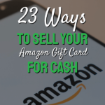 Ways to sell your amazon gift cards for cash