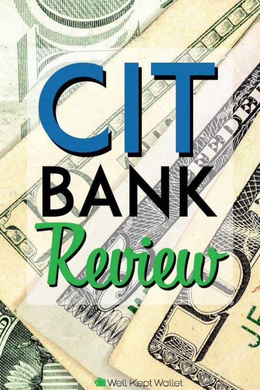 CIT Bank Review pinterest