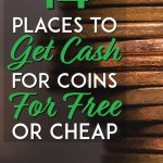 14 places to cash in coins for free or cheap pinterest pin
