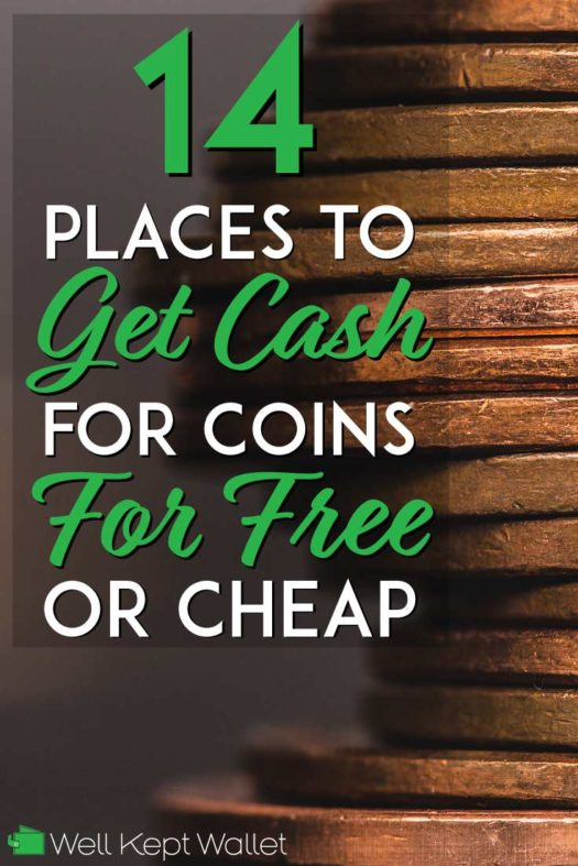 14 Places to Get Cash for Coins for Free (or Cheap)