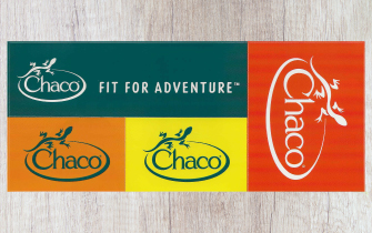 Chaco Sticker sheet they sent in the mail