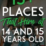 Places that hire teens pinterest pin