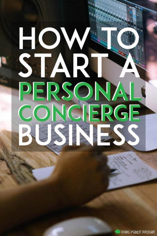 how to start a personal concierge business pinterest pin