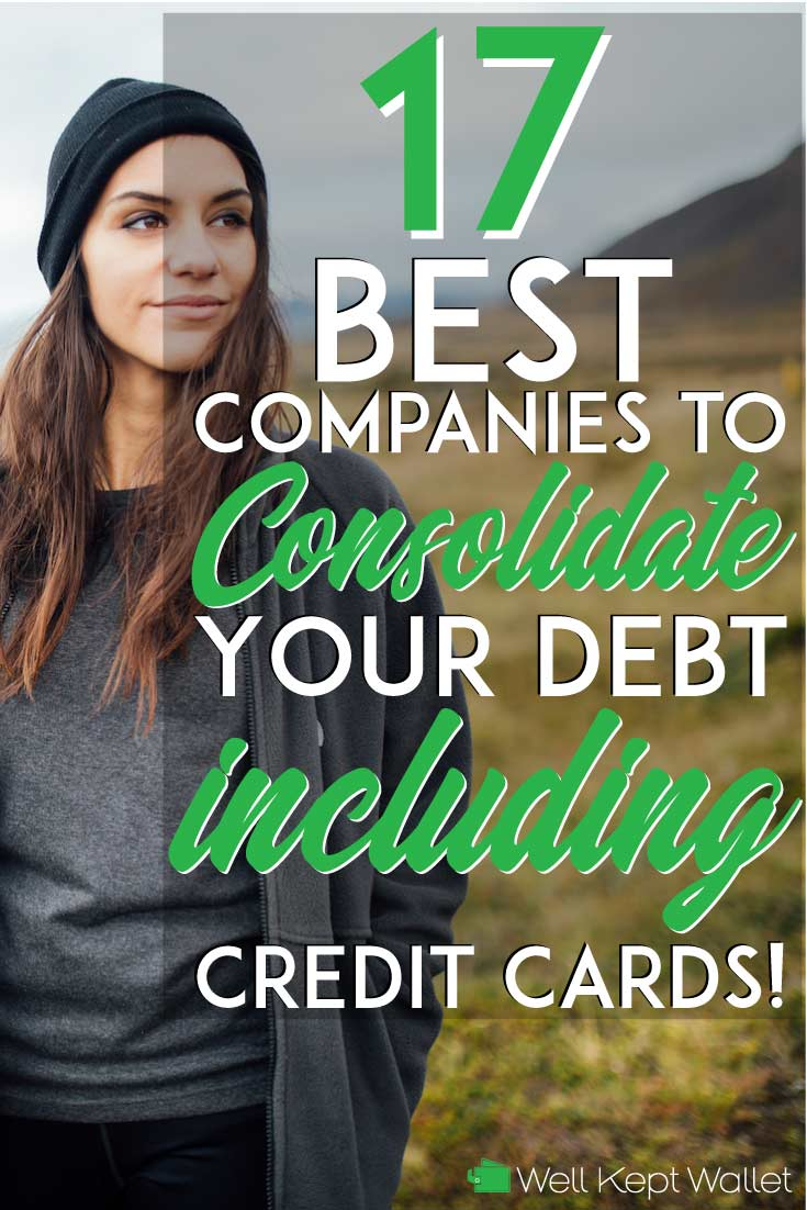 Save big money and pay off debt fast by consolidating to a low interest rate loan. These companies can help you consolidate your debt quickly and easily.
