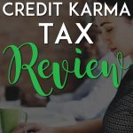 Credit Karma tax review pinterest pin