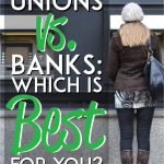 Credit unions vs banks which is the best for you pinterest pin