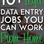 Data entry jobs you can work from home pinterest pin