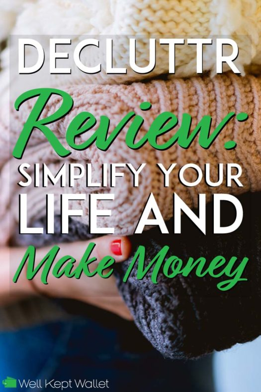 Decluttr Review simplify your life and make money pinterest pin