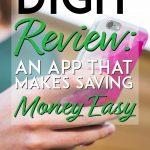 Digit Review an app that makes saving money easy pinterest pin
