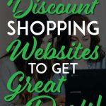 Best discount websites pinterest pin