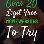 wors legit free movie websites to try