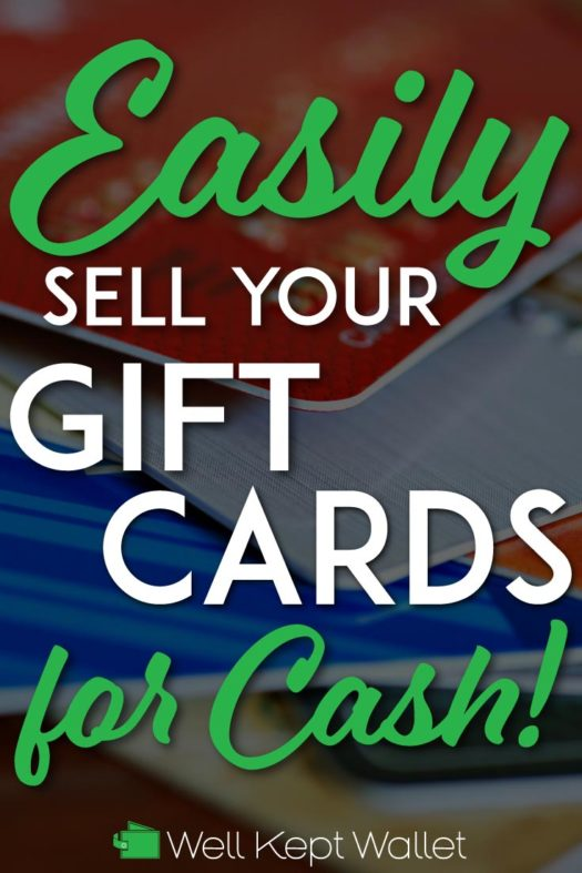 Sell gift cards for cash pinterest pin