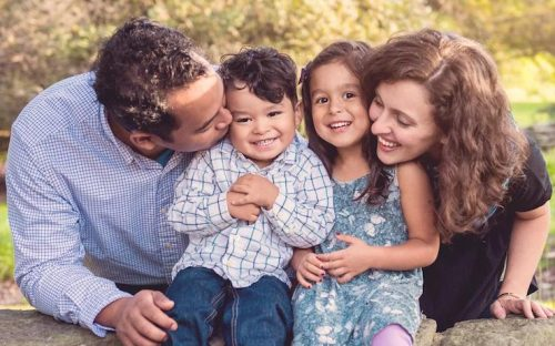 Family who paid off debt