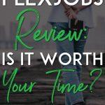Flexjobs review pinterest pin