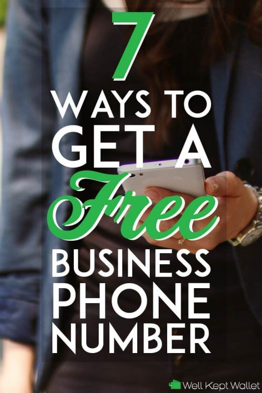 Free business phone number pinterest pin