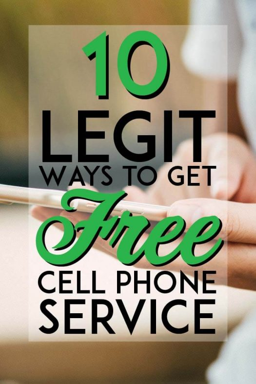10 Legit Ways to Get Free Cell Phone Service