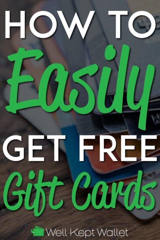 Get free gift cards pinterest pin