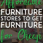 Affordable furniture for cheap pinterest pin