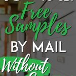 Ways to get free samples without surveys pinterest pin