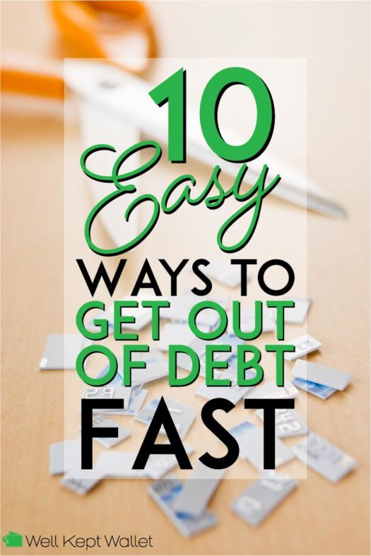 10 Easy ways to get out of debt fast