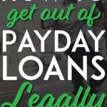 Get out of payday loans legally pinterest pin
