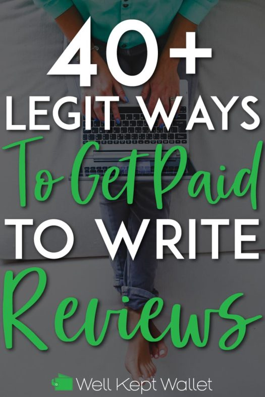 Get paid to write reviews pinterest pin