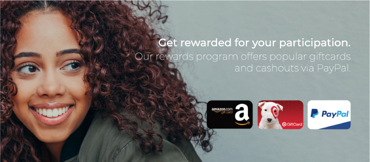 Survey Junkie offerings with amazon gift card as an option
