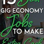Gig economy jobs pinterest pin