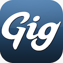 Gig Walk Application Logo Icon