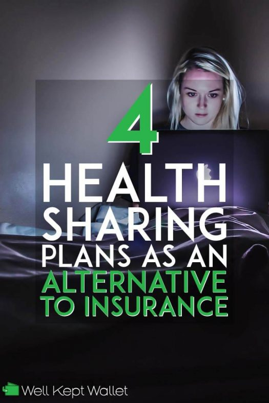 Health sharing plans as an alternative to insurance pinterest pin