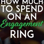 How much to spend on an engagement ring pinterest pin