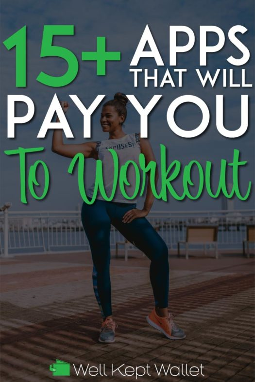 Get paid to workout pinterest pin