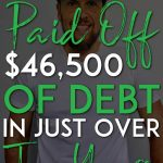 How he paid off 46500 in debt pinterest pin