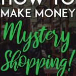 make money mystery shopping pinterest pin