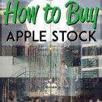 how to buy apple stock pinterest pin