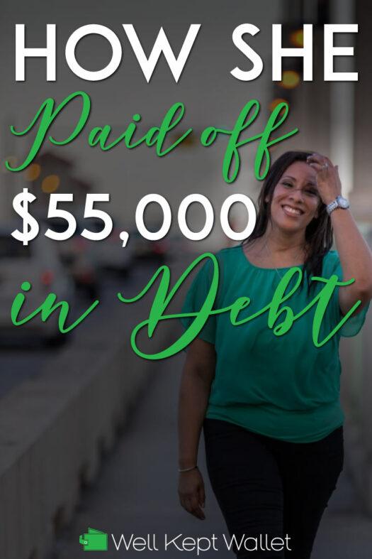 Kassandra Paid off Debt Pinterest Pin