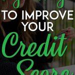 Legit ways to improve your credit score pinterest pin