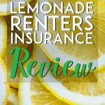 Lemonade Renters insurance review pinterest pin