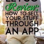 Letgo Review how to sell your stuff through an app pinterest pin