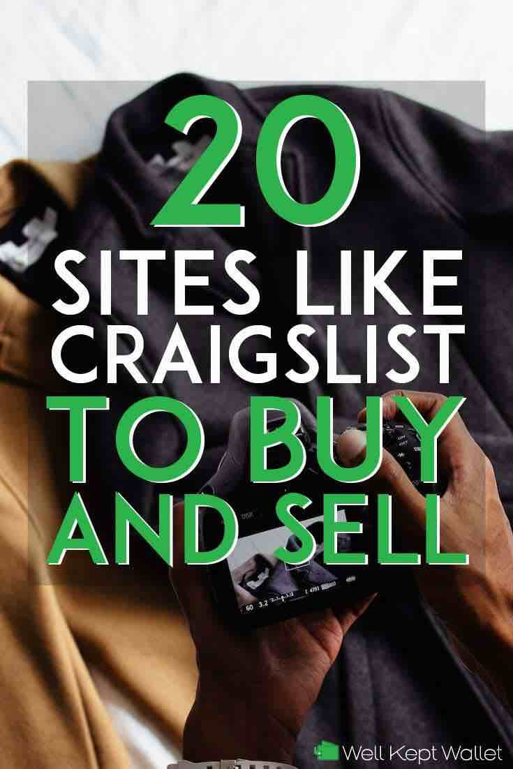 You probably didn't know there were this many different sites like Craigslist. Depending on where you live, some sites will be a better option than the others.