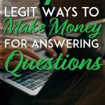 Make money for answering questions pinterest pin